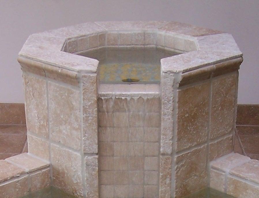 baptismal-font-spillway-detal-grace-lutheran-church-hockessin-de-by-water-structures