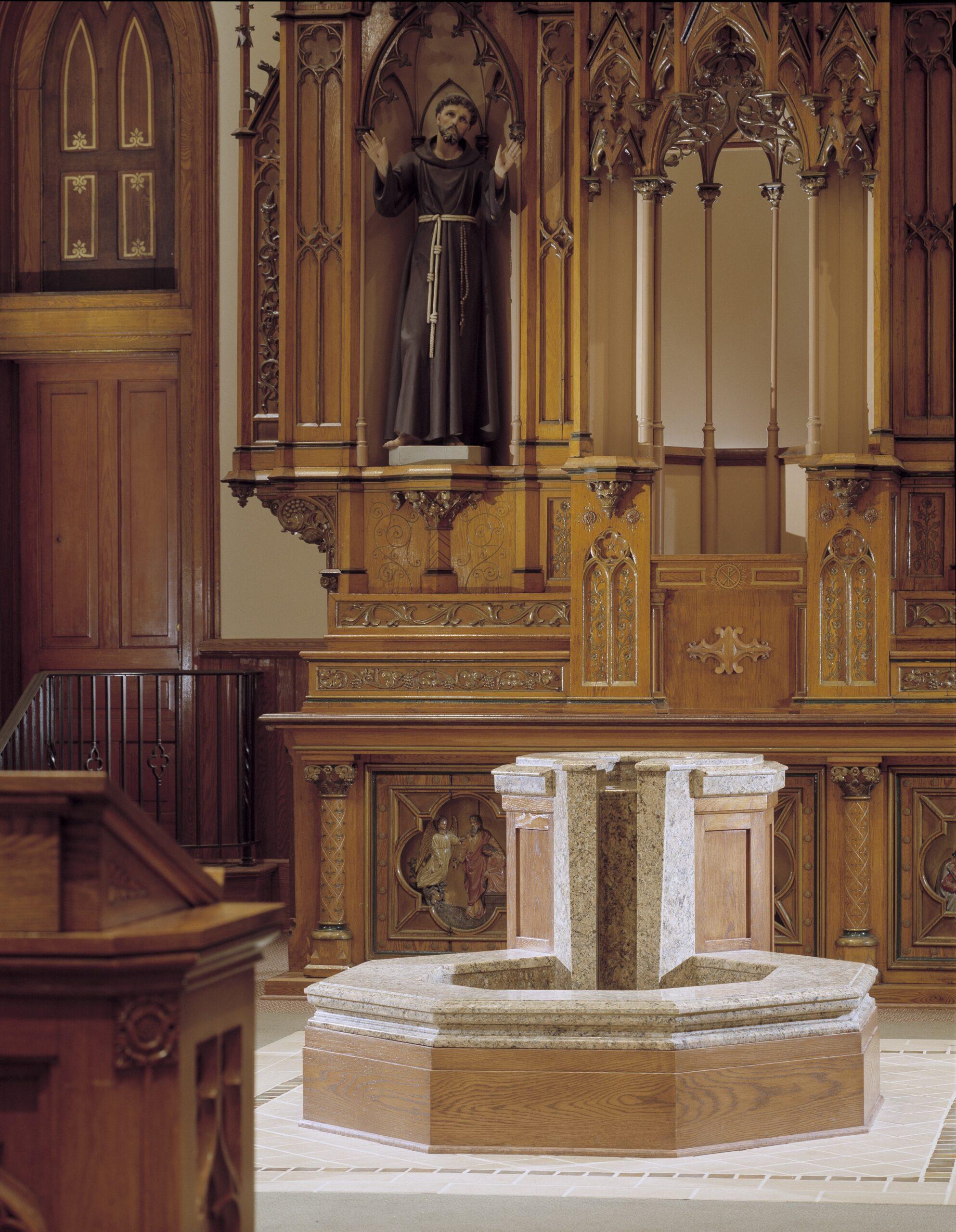 baptismal-font-st-bonaventure-view-detroit-mi-by-water-structures