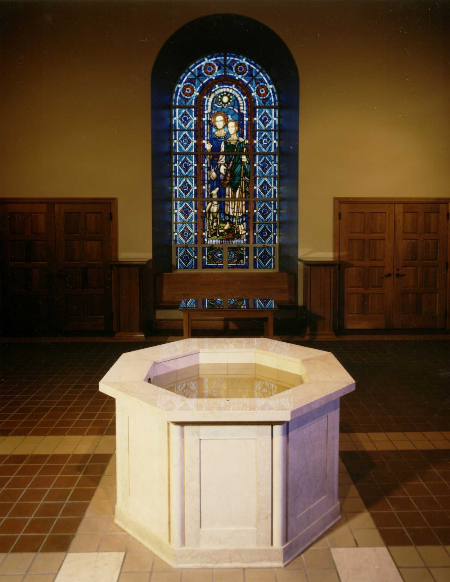 baptismal-font-st-raphael-parish-west-medford-ma-by-water-structures